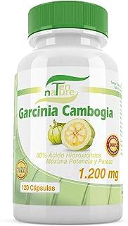 Ten Nature Garcinia Cambogia 120 cápsulas 140 g