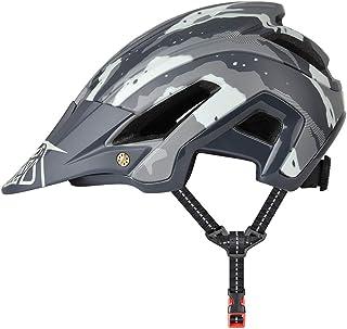 Yiesing Casco de Ciclismo, 300g 56-60cm Cascos de Bicicleta con Visera Desmontable, Ajuste Ajustable, 15 Vetns MTB Asco para Hombres y Mujeres Adultos
