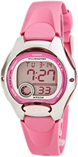 Casio Women's Pink Digital Dial Resin Band Watch - LW-200-4BV