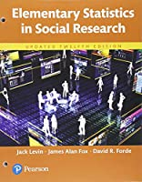 Elementary Statistics in Social Research, Updated Edition (12th Edition) Front Cover