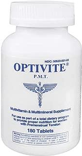 Optivite PMT Multivitamin by Optimox - 180 Tablets, Pack of 6