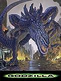 Close Up Godzilla Poster (70cm x 100cm)
