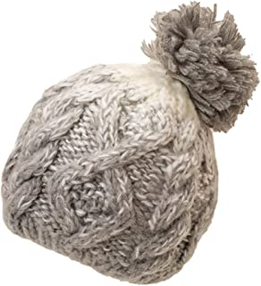 LUKALUKADA Fashion Women Casual Thermal Woolen Hat Knitted Hat Bucket Hat Bucket Hat Cap Gray
