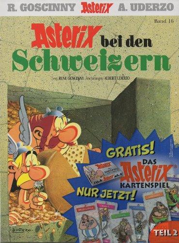 Asterix - Asterix bei den Schweizern - Band Nr. 16 - Mit dem Extra