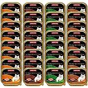 animonda Vom Feinsten Adult cibo per gatti, alimento umido per gatti adulti, mix di creazioni con pollame, 32 x 100 g