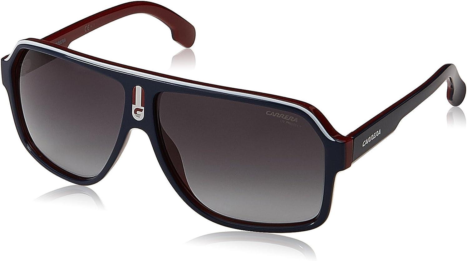 Carrera Men's CA1001/S Aviator Sunglasses, 62 mm