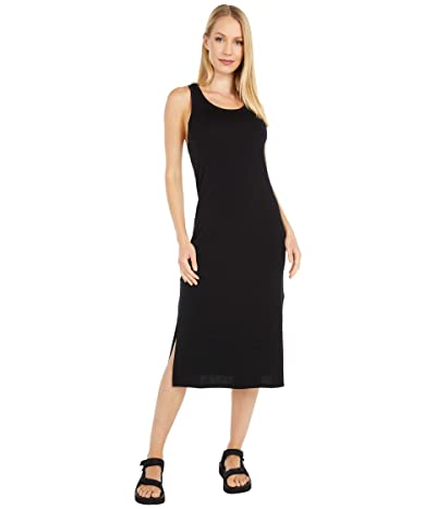 Icebreaker Yanni Merino Tank Midi Dress (Black) Women