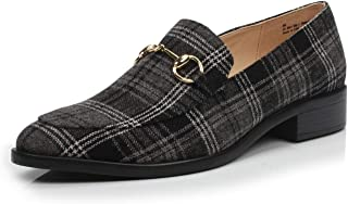 Best plaid loafers womens Reviews
