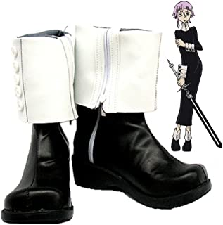 Soul Eater Crona Cosplay Shoes Boots Custom Made
