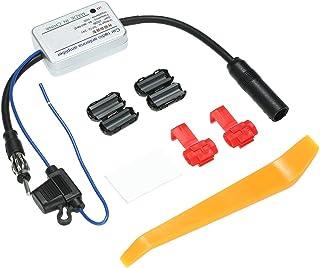 Para Universal 12 V Auto Amplificador de Sinal de Antena de Rádio FM Do Carro Amplificador Impulsionador Para Marine Boat ...