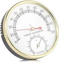 Garosa Higrómetro Digital Termómetro Interior Medidor de Humedad Termómetro de La Habitación Temperatura Precisa Medidor de Humedad Monitor para Sauna Habitación Hogar Oficina de Invernadero