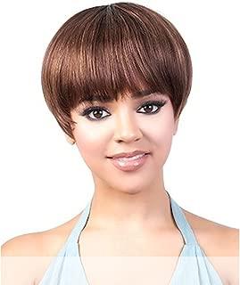 Motown Tress (Ggh-davy) - Human Hair Full Wig in WINE