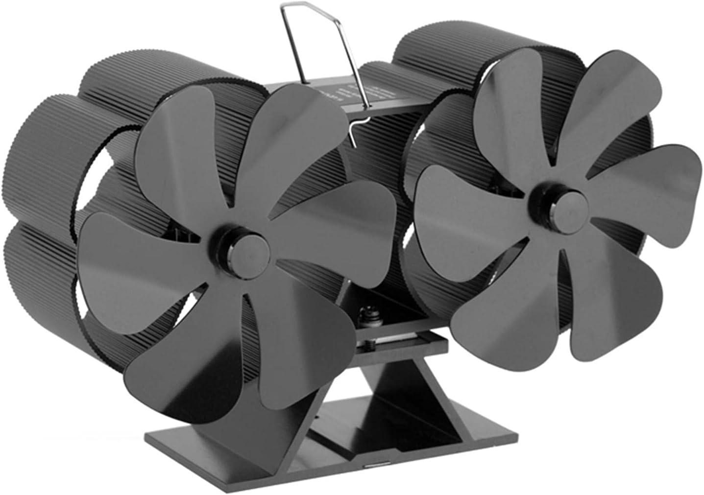 Ventilador De Chimenea De 12 Hojas Ventilador De Estufa Habitaciones Para Estufas De Leña Estufas De Leña Respetuoso Con El Medio Ambiente Sin Electricidad