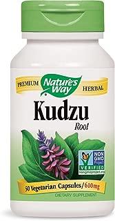 Nature's Way Premium Herbal Kudzu Root, 1,226 mg per serving, 50 Capsules