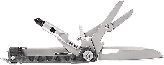 Gerber Multifunktionswerkzeug mit 8 Funktionen, Messer mit glatter Klinge, ArmBar Drive, Dunkelgrau, Edelstahl/Aluminium, 31-003830