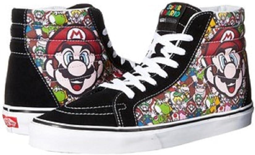 Vans SK8-Hi Reissue Mario & ‿Luigi Hauts Unisexe Adulte ...
