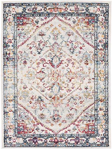 CarpetFine: Moderner Sadaf Teppich 120x170 cm Beige - Vintage