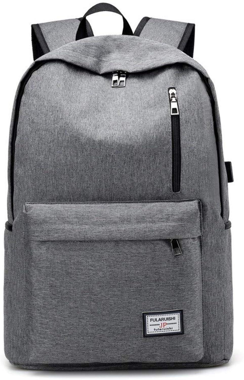 4bde010bb773 Shoulder Double Charging External Bag Leisure and Travel Men's Back ...