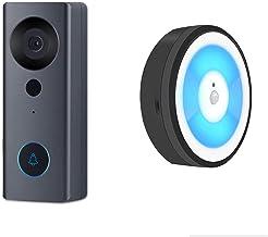 Tuya Smart Life WIFI Video Deurbel, Nachtlampje 1080P Visuele deurtelefoonoproep Audio Intercom Alarm Camera Werk met Alex...