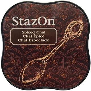 Tsukineko StazOn Midi Ink Pad, Spiced Chai by Tsukineko