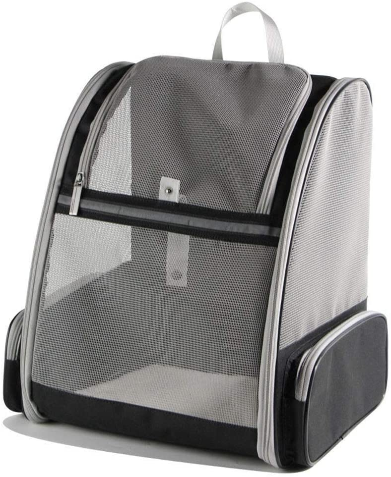 Milwaukee Mall ZHHk Dog Bed Black and Gray pet Backpack Portable Max 67% OFF cat Ba