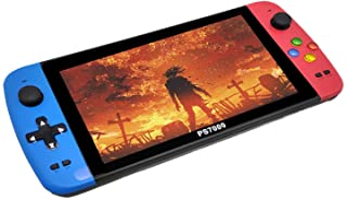 Mini console de jeu portable, console de jeu rétro, 3500 jeux classiques avec grand écran haute définition 7 pouces, conce...