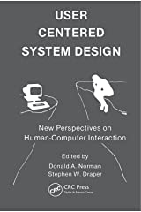User Centered System Design: New Perspectives on Human-computer Interaction Paperback