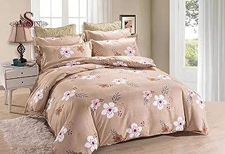 TP-104 Si Lin 6 pcs King Size Cotton comforter Set Full Filled