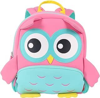 NOHOO 3D Owl Toddler Sidekick Bags Preschool Toys Bag