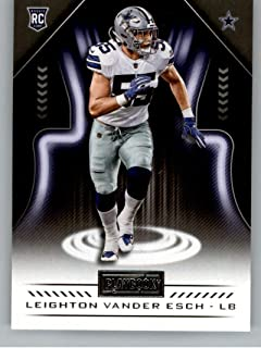 d9a22159 2018 Panini Playbook #159 Leighton Vander Esch Rookie RC Rookie Dallas  Cowboys NFL Football Trading