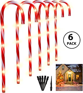 Best christmas candy cane outdoor decorations Reviews