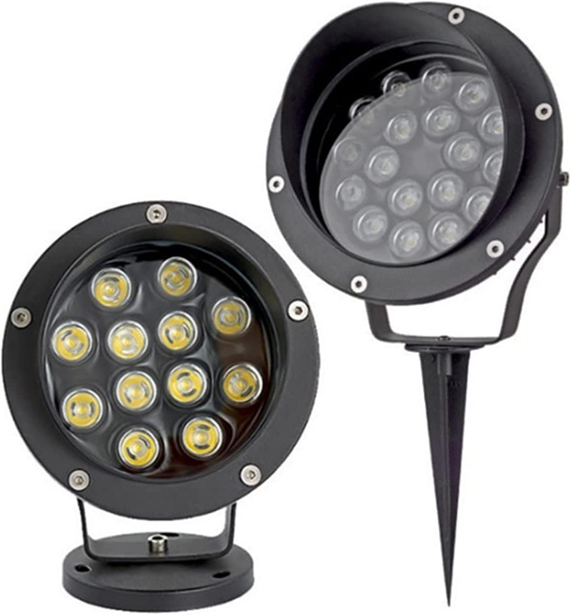 ZHM 2Pack Outdoor Garden Lamp LED L 6W Lawn Waterproof Light Bombing free shipping Ranking TOP1