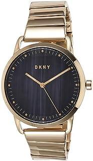 ساعة دي كيه ان واي للنساء NY2756 - كحلي