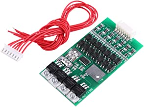 Akozon Protection Board, 7S 24V 20A Lithium Battery BMS Protection Board 1pc with Balancing Function
