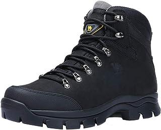 Botas de Senderismo para Hombre, Zapatos de Deporte Senderismo Cordones Botas con Puntera Impermeable, 41-47