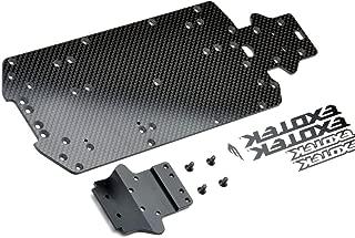 Exotek RC Exotek 1471 Mini 8Ight-T Truggy Carbon Bottom Plate Set