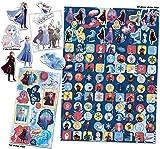 Paper Projects 9124097 Frozen - Lote de 2 pegatinas de Frozen , color/modelo surtido