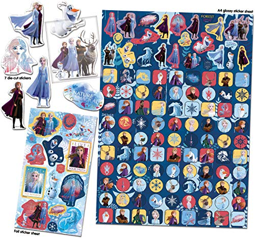 Paper Projects 9124097 Frozen 2 Mega Sticker Pack, 29,7 cm x 21 cm (Haushaltswar...
