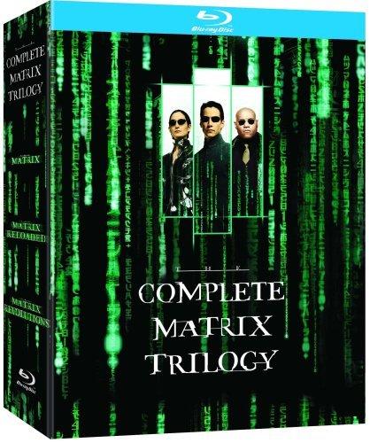 The Complete Matrix Trilogy - The Matrix, Matrix Reloaded & Matrix Revolutions (3 Disc Box Set) [Blu-ray]