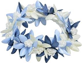 [ Luxury's ] シュシュ ヘアゴム フラワー 花 パステル ダーク カラー Luxury's ラグリーズ お花 ヘアアクセサリー ヘアアクセ