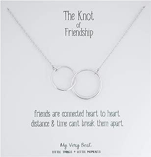 Best friendship knot necklace Reviews