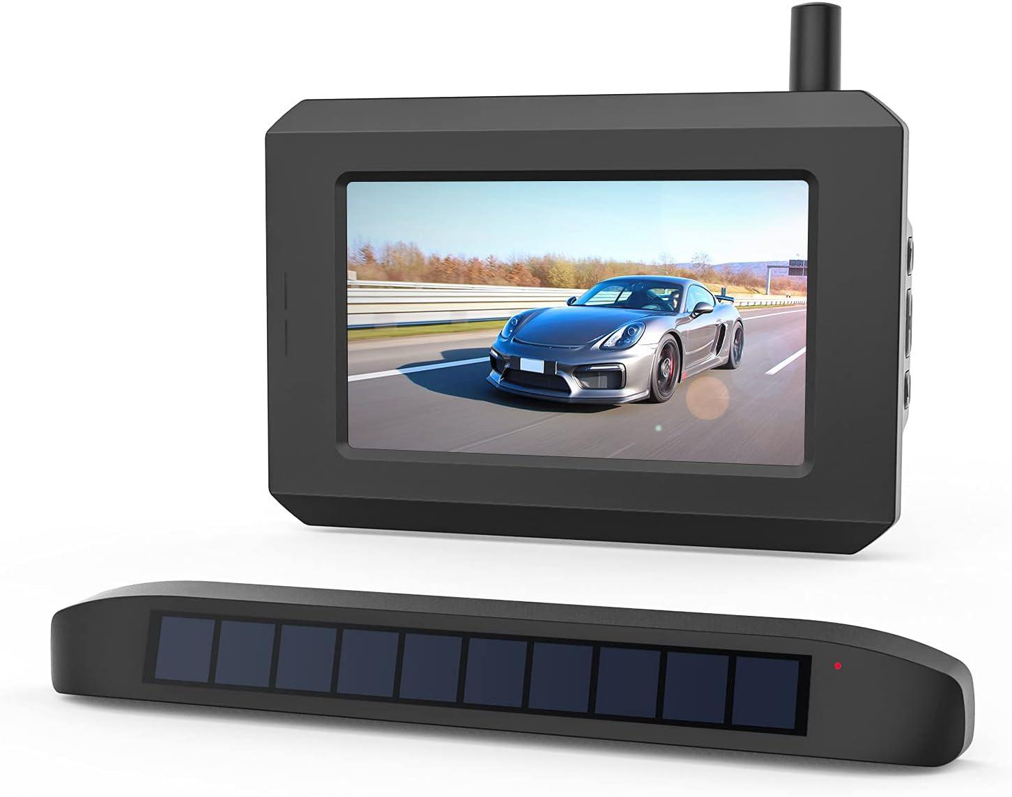 BOSCAM SunGo Pro Solar Wireless Backup Camera Kit $113  Coupon