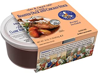 More Than Gourmet Glace De Canard Gold, Roasted Duck Stock, 16-Ounce Units