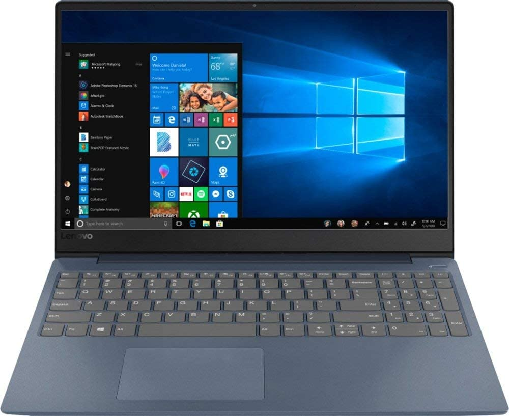 """Newest 2019 Flagship Lenovo IdeaPad 330S 15.6"""" Laptop Intel Core i3 4GB Memory 128GB Solid State Drive Midnight Blue"""