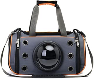 ANXUAN Portable Travel Bag Comfortable Cat Backpack Travel Bag Airlines Approved for Hiking, Applicable to All Claw Pets 1-17 pounds