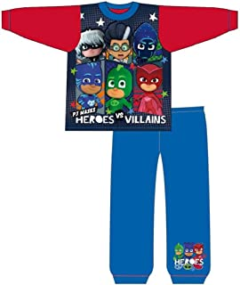 Boys Heroes Vs Villains Pijamas Set … (Nightfire/concurso, 18-24m)