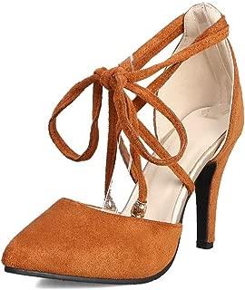 BalaMasa Womens ASL06670 Pu Heels