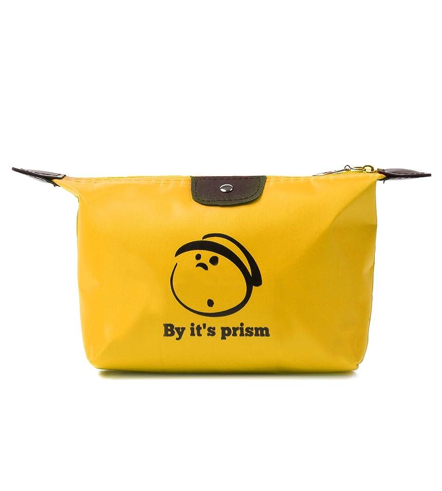 ピストル上院タイヤBy it's prism 化粧ポーチ コスメポーチ 大容量 かわいい メイクポーチ コンパクト 小物入れ