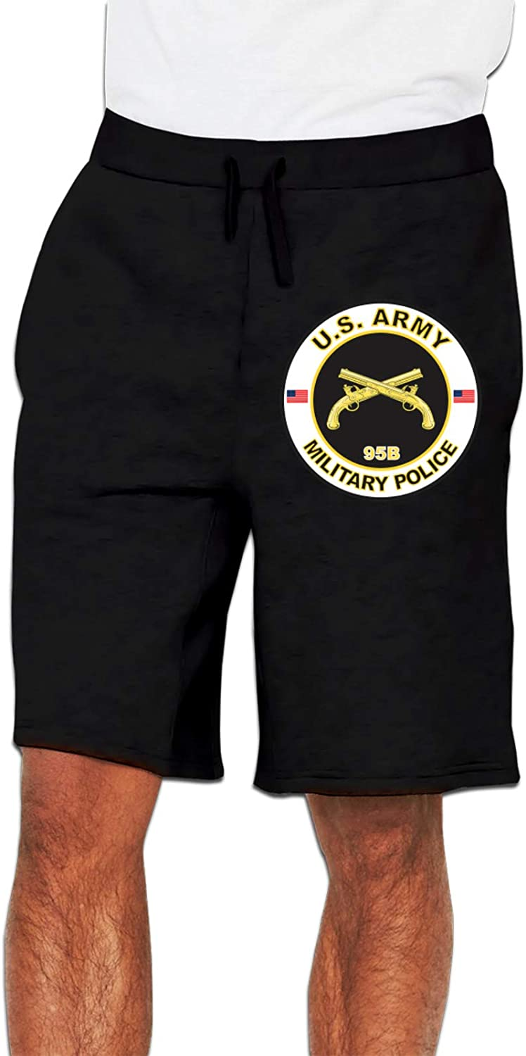 ZBBZHY Us Army Veteran Military Police Men Loose Track Pants Jer