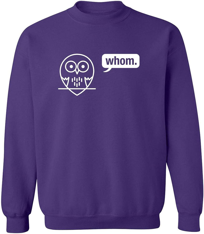 Whom (owl) Crewneck Sweatshirt